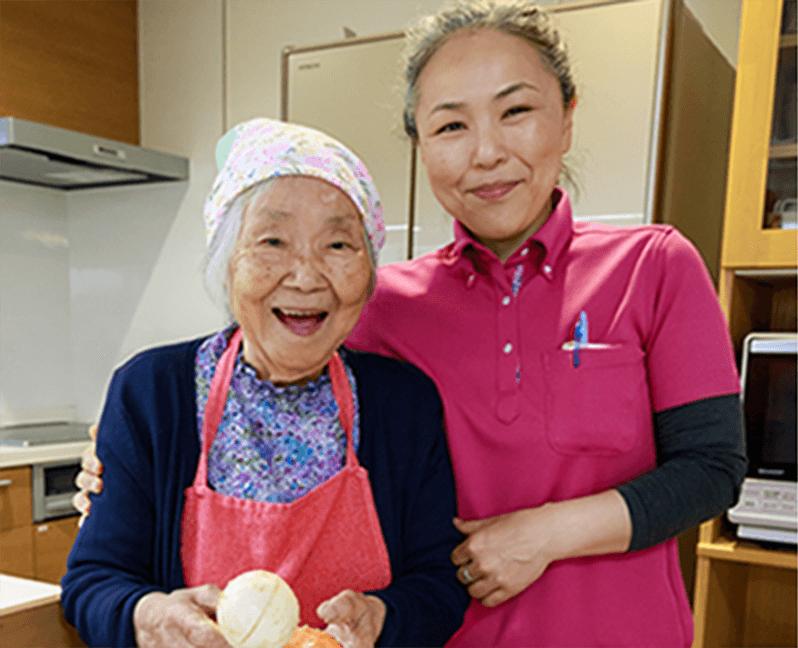 安心で安全な高齢者介護サービスを提供しています