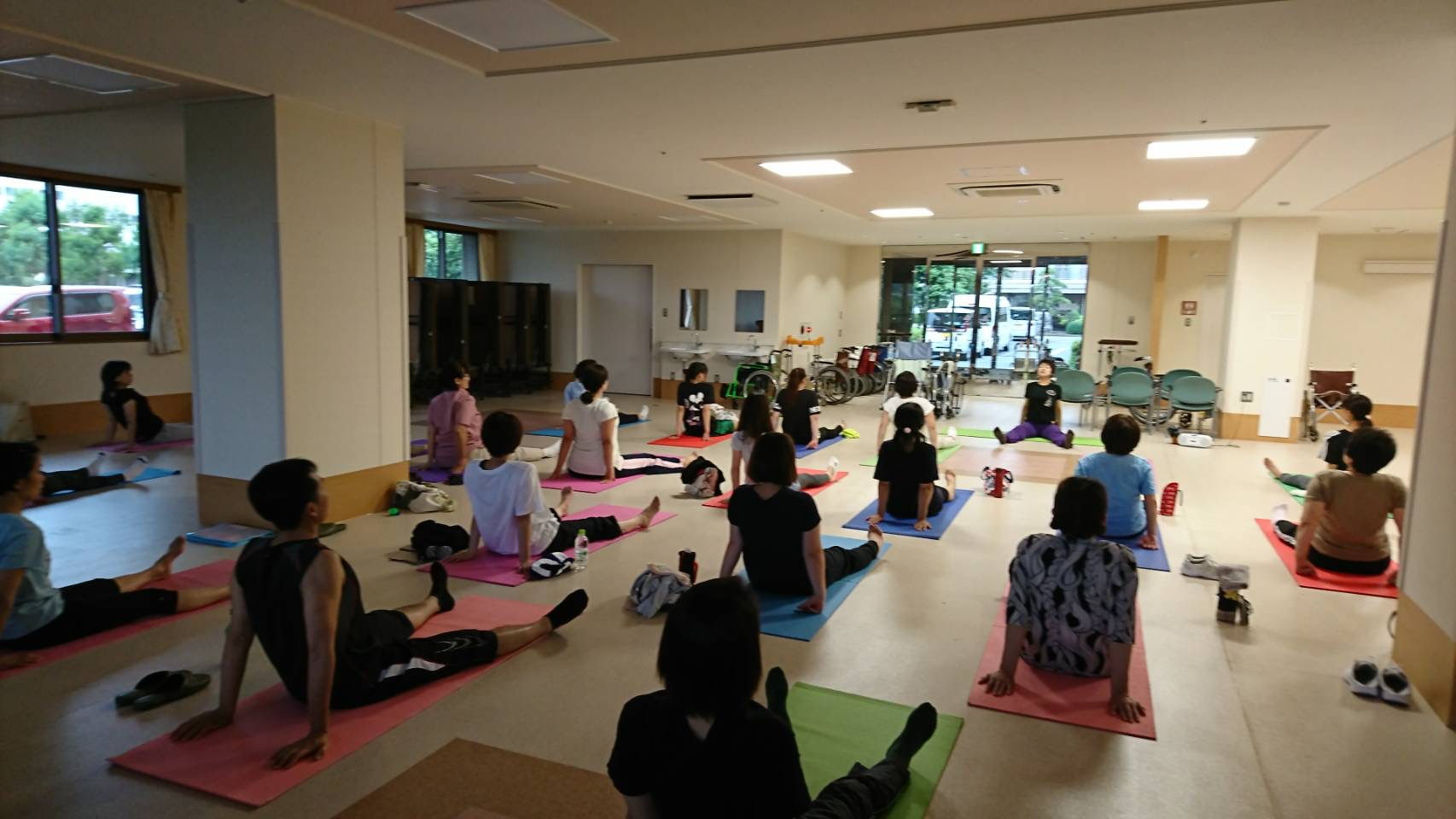 Friendship・Yoga class